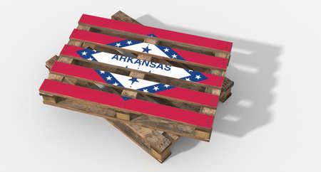 icona: 3D flag Arkansas pallets