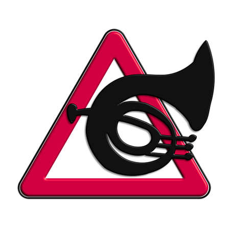 Warning or red attention music