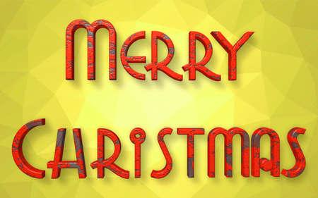 Buon Natale con sfondo colorato