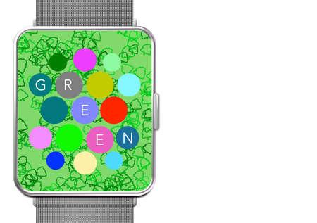 Green Screen Clock