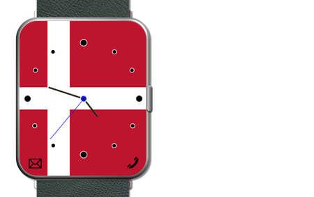 Clock Touch Screen Denmark