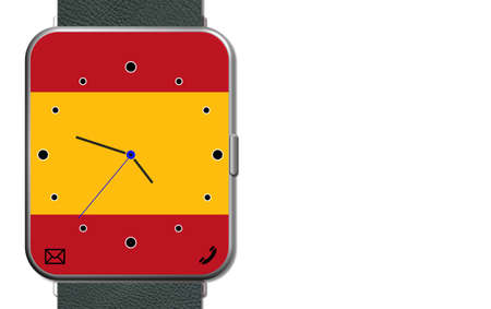 Clock Touch Screen Spain