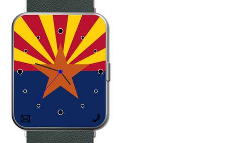 Clock Touch Screen Arizona