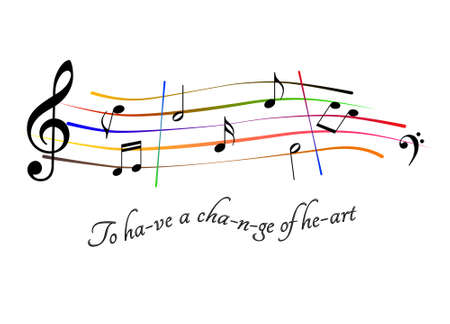 Musical score To have a change of heart