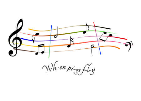 When pigs fly music sheet