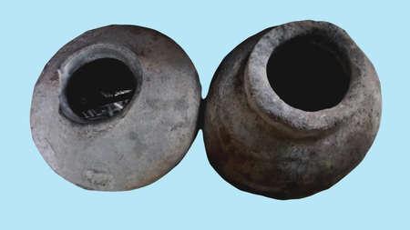 antiquary: Earthenware Jug and Stone Jug