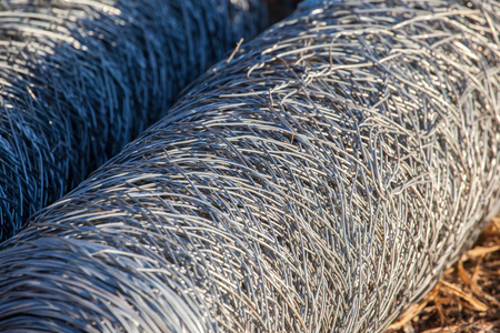 fencing wire: Rolls of stainless steel wire mesh for use of fencing
