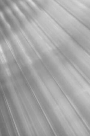 aluminium background: background of a wavy and oblique sheet metal aluminium Stock Photo