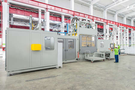 icebox: equipment and machines for the production of refrigerators. production of refrigerators at the factory