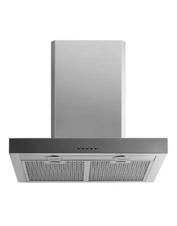kitchen hood metal color on a white background isolated Stockfoto