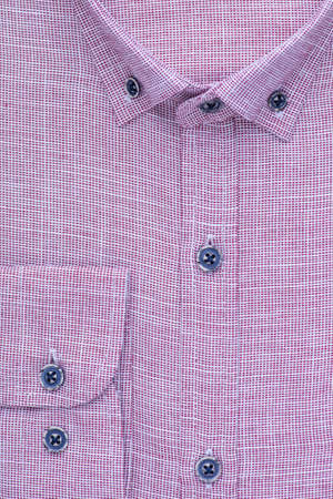 shirt, detailed close-up collar and cuff, top view