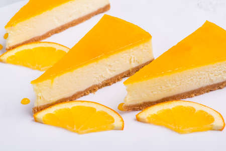 delicious lemon cake on a white plate