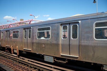 Foto del metro del metro de nueva york