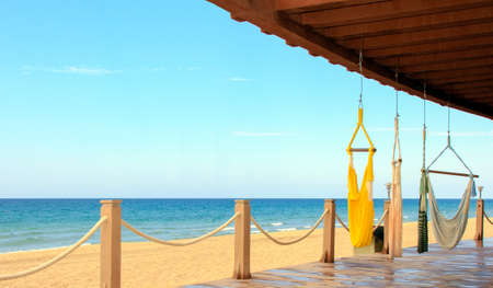 A beachfront view of the Sea of Cortez, Mexico  A place for tranquility and relaxation