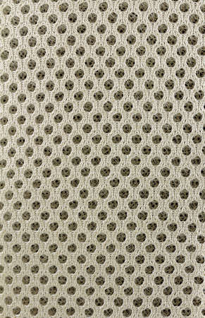 nylon: A woven pattern with octagonal holes