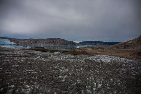 Summer landscape in the fiords of Narsaq, South West Greenland