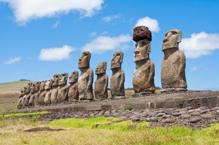moai: Ahu Tongariki
