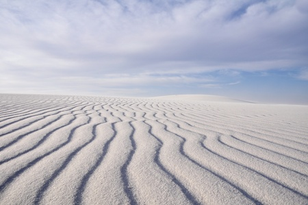 White Sands National Monument, New Mexico Stock Photo - 10327019