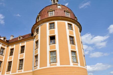 saxony: Moritzburg castle, Saxony (Germany) Editorial