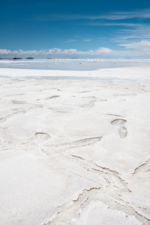 Salar de Uyuni, Salt flat in Bolivia Stock Photo - 10774950