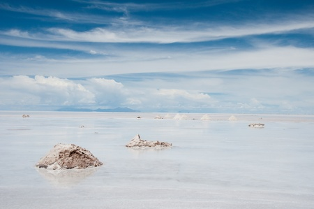 Salar de Uyuni, Salt flat in Bolivia Stock Photo - 10821645
