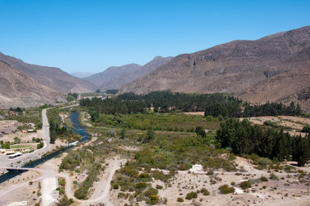 Elqui valley, Chile Stock Photo - 10765524