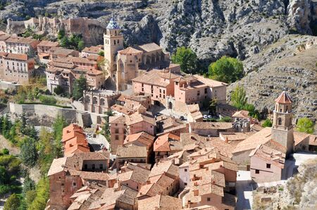 Albarracin, medieval town of Teruel, Spain photo