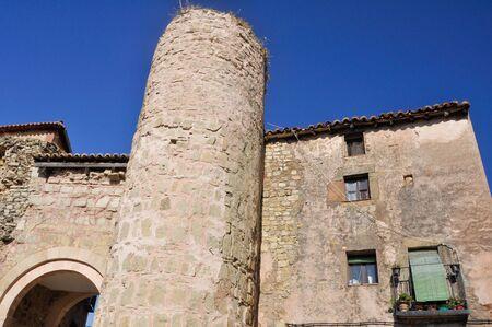 guadalajara: Iron gate, Siguenza, Guadalajara (Spain)