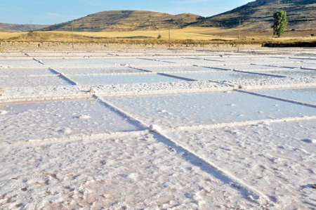 salt flat: Salt flat of Imon, Guadalajara (Spain) Editorial