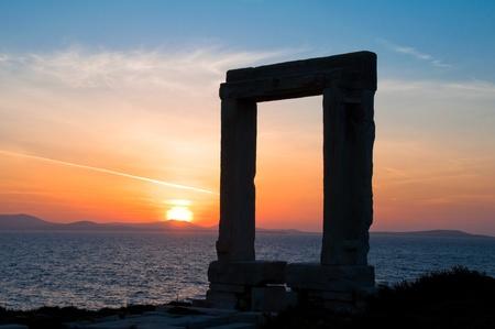 naxos: Apollo gate, Naxos island (Greece)