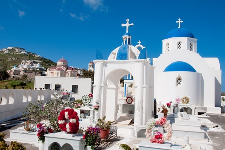 Chapel in Santorini island, Greece