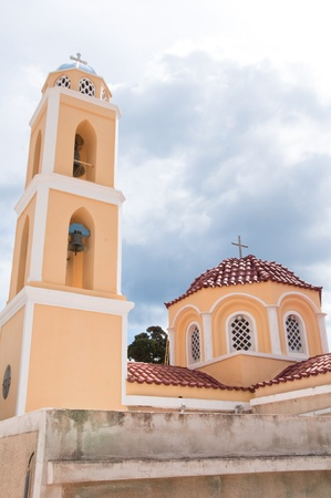 ano: Church in Ano Syros, Greece