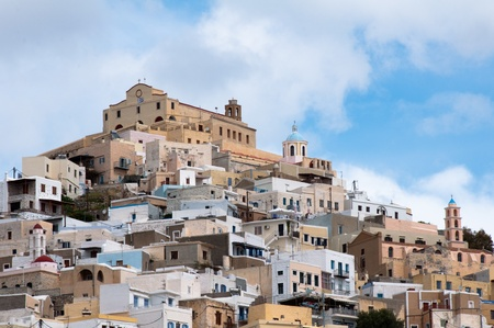ano: Ano Syros in Greece