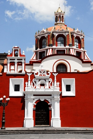 santo: Santo Domingo church, Puebla (Mexico)