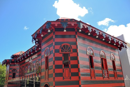 rico: Ancient firehouse in Ponce, Puerto Rico