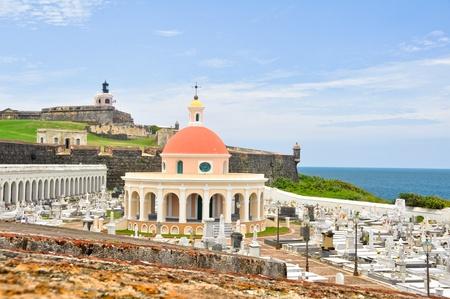 san juan: Santa Maria Magdalena cemetery, old San Juan, Puerto Rico