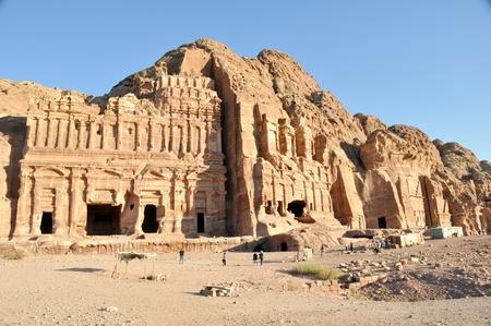 petra  jordan: Royal tomb in Petra, Jordan