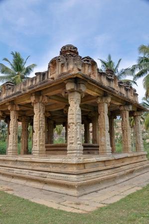 Gejjala Mandapa Temple, Hampi (India) Stock Photo - 11801108