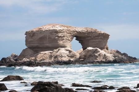 la: La Portada Naturdenkmal in Antofagasta, Chile Lizenzfreie Bilder