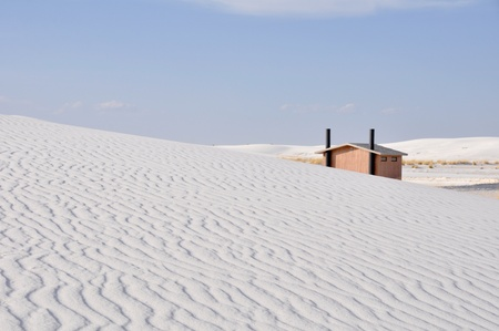 White Sands National Monument, New Mexico (USA) Stock Photo - 11931795
