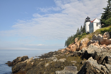 Bass Harbor Lighthouse, Acadia national park photo