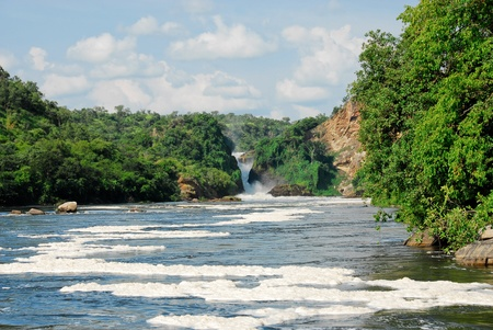 Murchison Falls on the Victoria Nile, northern Uganda photo