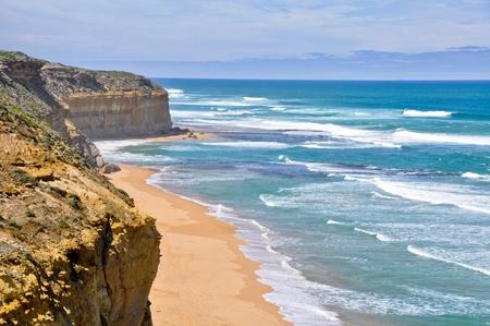 apostles: Beach at Gibson Steps, Twelve Apostles, Victoria (Australia) Stock Photo