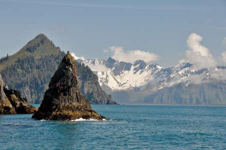 Resurrection Bay in Alaska Stock Photo - 11930868