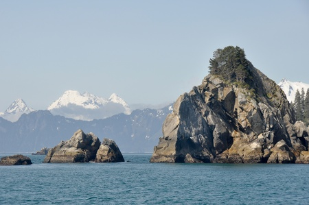 Resurrection Bay in Alaska photo