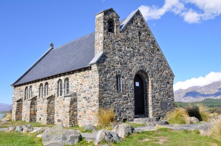 good shepherd: The Church of the Good Shepherd, Tekapo lake, New Zealand