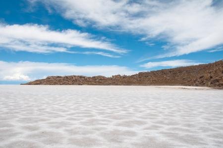 incahuasi: Salt flat of Uyuni, Bolivia