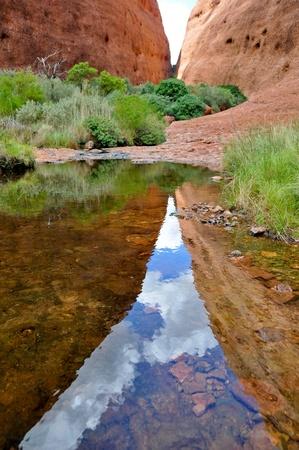 olgas: The Olgas, Australian desert  Stock Photo