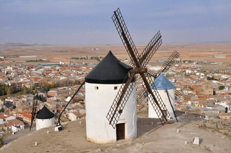 Windmill in Toledo (Spain) photo