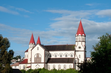 Puerto Varas catholic church (Chile)